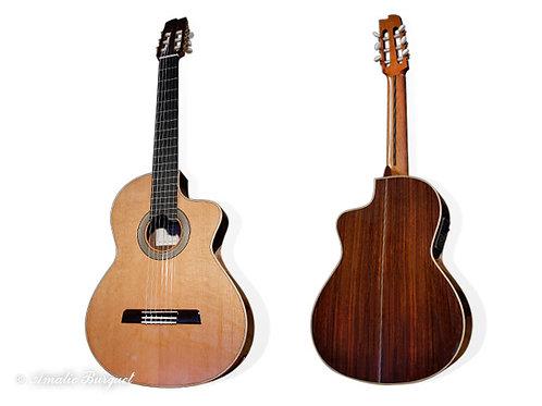 Guitare classique électro Amalio Burguet E1