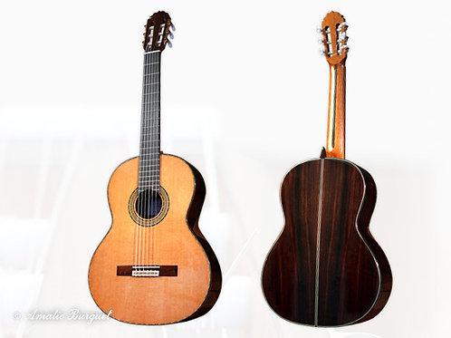 Guitare classique Amalio Burguet 3M cèdre