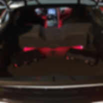 "Audiosound | car audio stereo | Custom dual 10"" subwoofers with LED lighting"