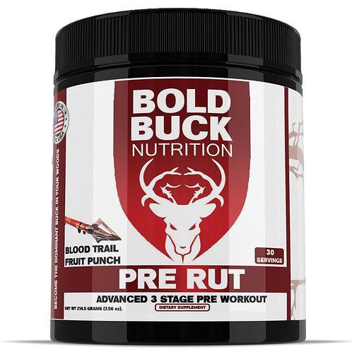 Pre Rut -  Advanced 3 Stage Pre Workout