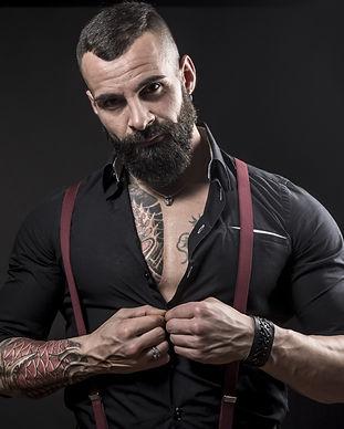 Bold Buck Nutrition Bearded Guy Button U