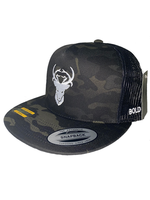 Hat-Official Yupoong Multi-Cam Black (Limited Law Enforcement Camo)
