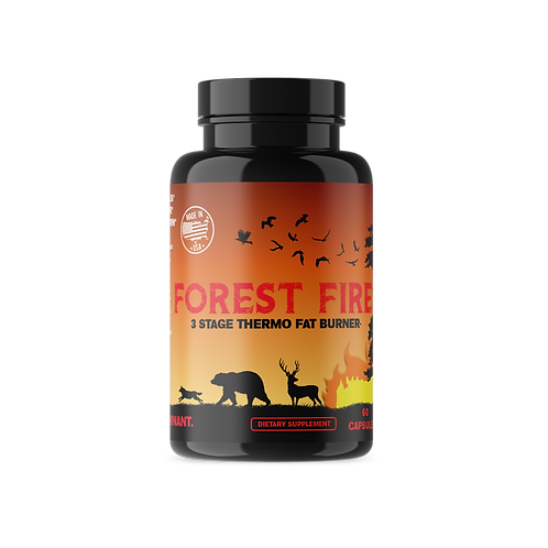 Forest Fire - 3 Stage Thermogenic Fat Burner