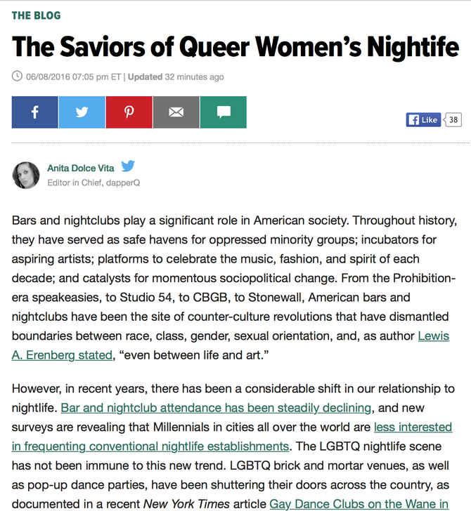 Huffington Post Features L&B!