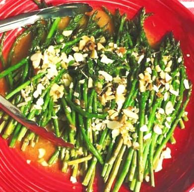 Asparagus with Citrus Bagna Cauda