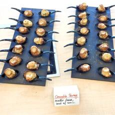 Cannelés munster cheese, cumin seeds