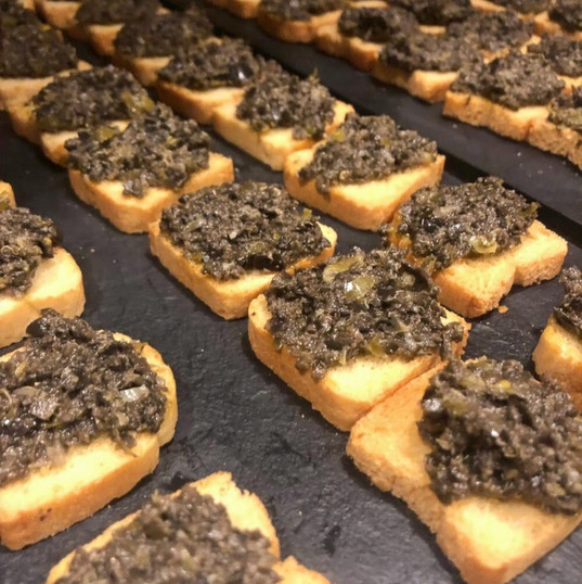 Toasts of Tapenade