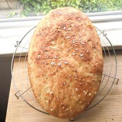 No-knead bread (Pain Cocotte)