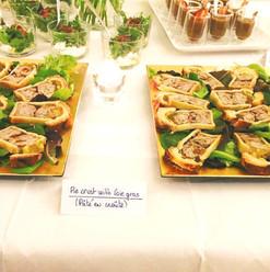 Pie crust with Foie gras