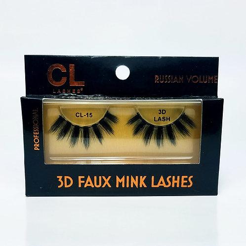 Pestañas Mink CL 3D Mink