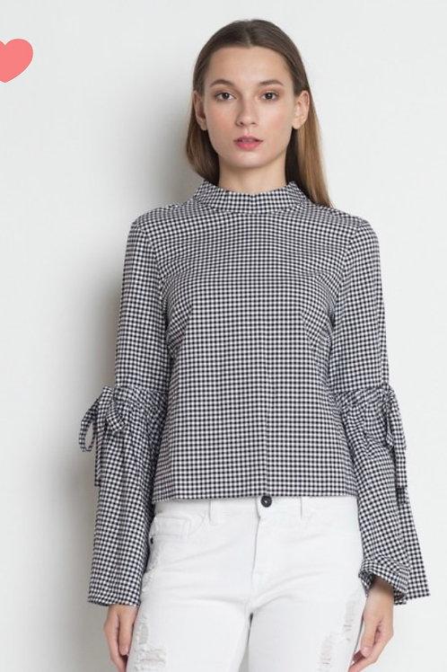 Blusa Fashion Cuadros