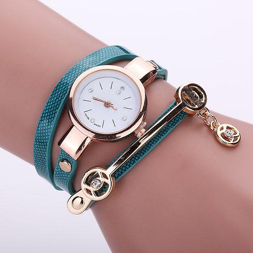 Reloj de Cuero. (M)