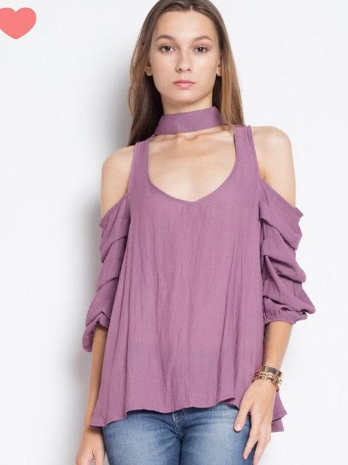 Blusa Rufle  Iris