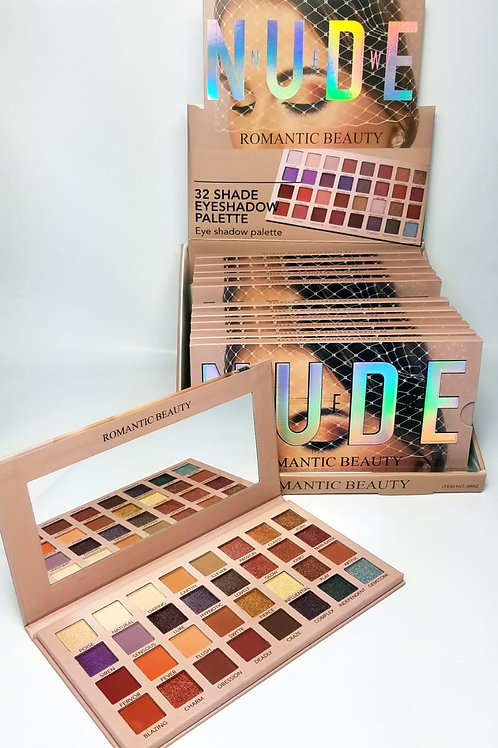 Paleta Nude Romantic Beauty