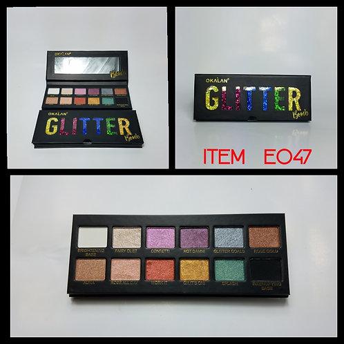 Paleta Glitter Okalan