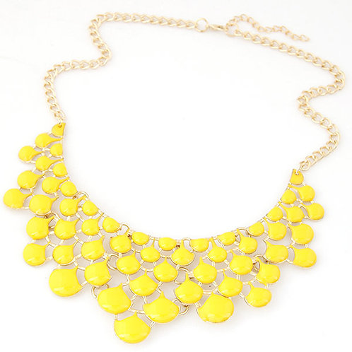 Maxi collar Amarillo. (M)