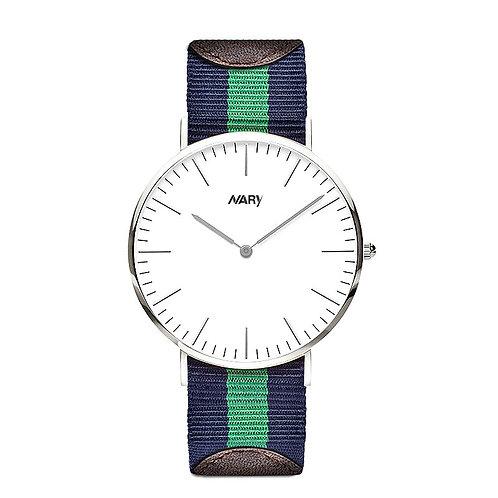 Reloj de pulsera unisex de nylon. (M)