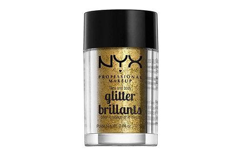 Glitter para rostro y cuerpo Nyx Professional Makeup Glitter Brillants