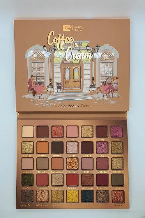 Paleta Coffe and Cream Malibu Glitz