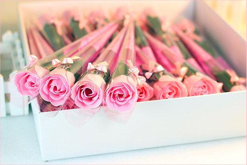 Jabón en Forma de Rosa
