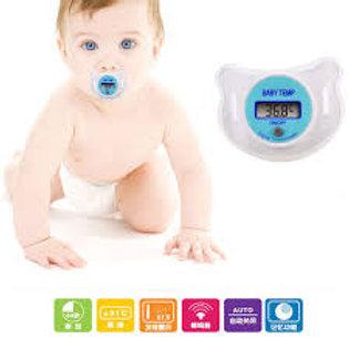 Termómetro led, estilo chupón para bebes.