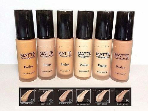 Maquillaje Prolux Matte