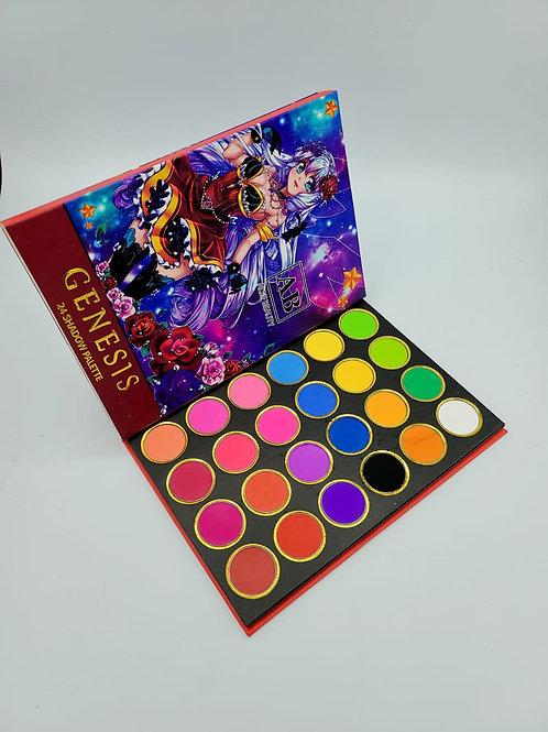 Neón Color Palette Genesis ALEF