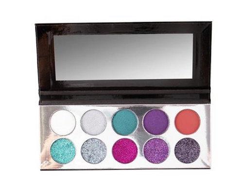 Silver Palette Trendy Beauty