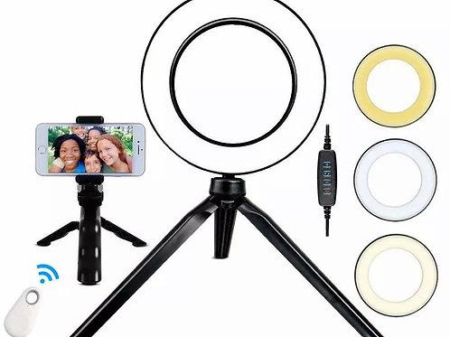 Haro de luz selfie Makeup