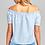 Thumbnail: Blusa de Moda Rayas