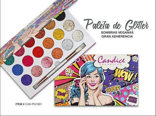 Paleta Glitter Candice