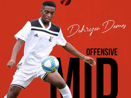 Dohryen Demas se joint à Sports Ambitions