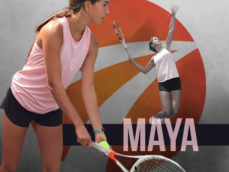 Maya Thabet avec Sports Ambitions