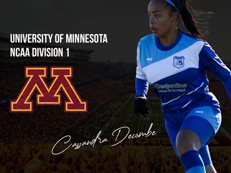 Cassandra Decombe à University of Minnesota