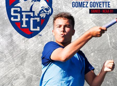 Alex Gomez Goyette en NCAA Division 1