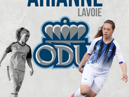 Arianne Lavoie en NCAA Division 1 dès 2021