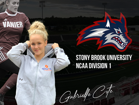 Gabrielle Côté à Stony Brook University