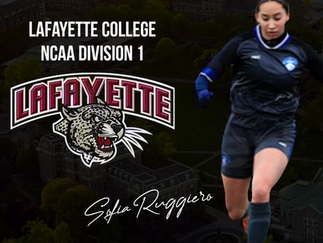 Sofia Ruggiero commits at Lafayette College