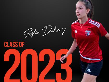 Sofia Doheny choisit Sports Ambitions