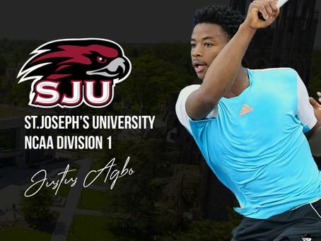 Justus Agbo à St.Joseph's University