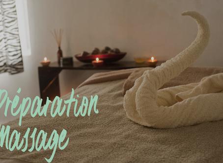 Comment bien se préparer pour un massage?