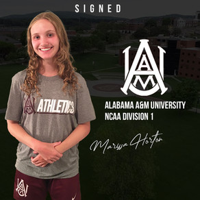 Marissa Horton signs with Alabama A&M