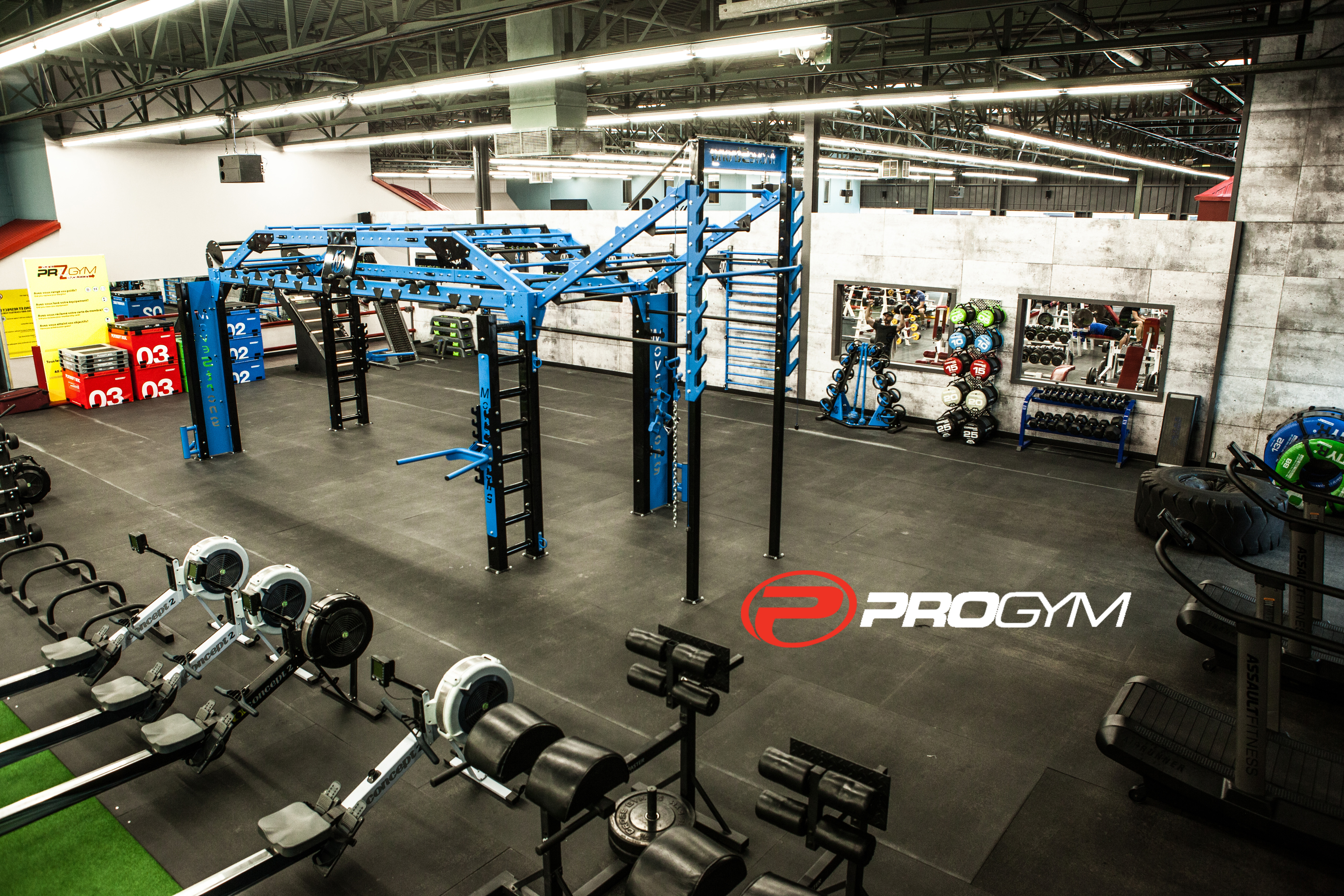 Accueil Pro Gym Montreal