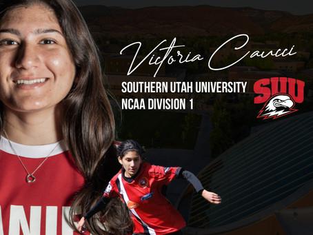 Victoria Caucci commits at Southern Utah University