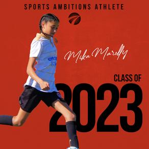 Mika Marolly chooses Sports Ambitions