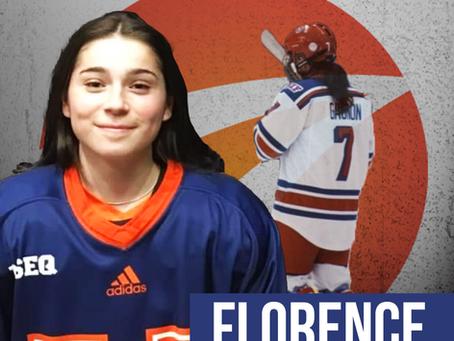 Une première joueuse de hockey pour Sports Ambitions
