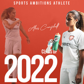 Alexis Campbell chooses Sports Ambitions