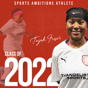 Taijah Fraser joins Sports Ambitions