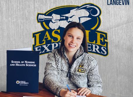 Mathilde Langevin en 1ère division de la NCAA dès l'automne prochain!