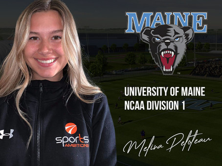 Mélina Peloteau choisit University of Maine